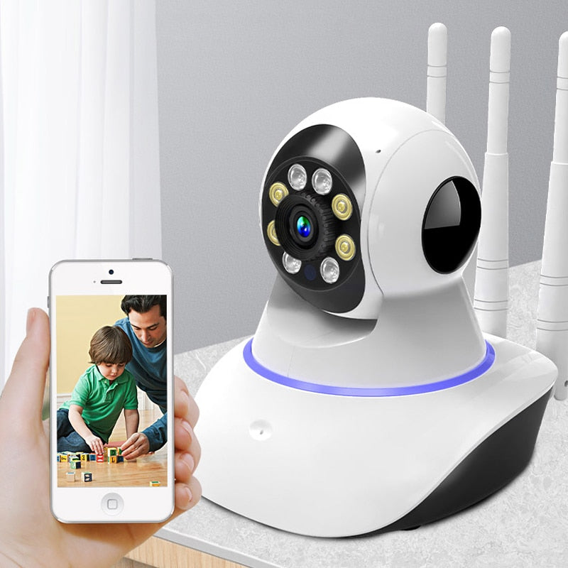 WIFI IP Camera Security Video Surveillance 1080P Night Vision Smart Home Camera 360 Indoor CCTV Baby Monitor IP Camera WIFI