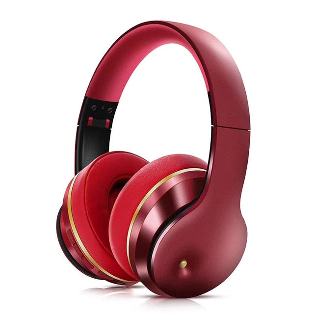 Headphone Wireless Bluetooth 5.0 Active Noise Cancelling Foldable Earphone Deep BASS Music Earbuds Gaming Headset With Micro
