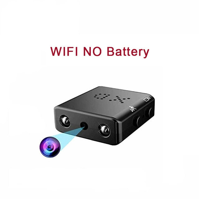 Wireless Mini WIFI Camera Full HD 1080P Micro IP Camera WIFI Infrared Night Vision Mini Camcorders Small Secret Video Camera