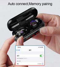 Load image into Gallery viewer, V7 TWS 5.0 Fingerprint Touch Bluetooth Earphones, HD Stereo Wireless Headphones, Noise Cancelling Gaming Headset In Stock