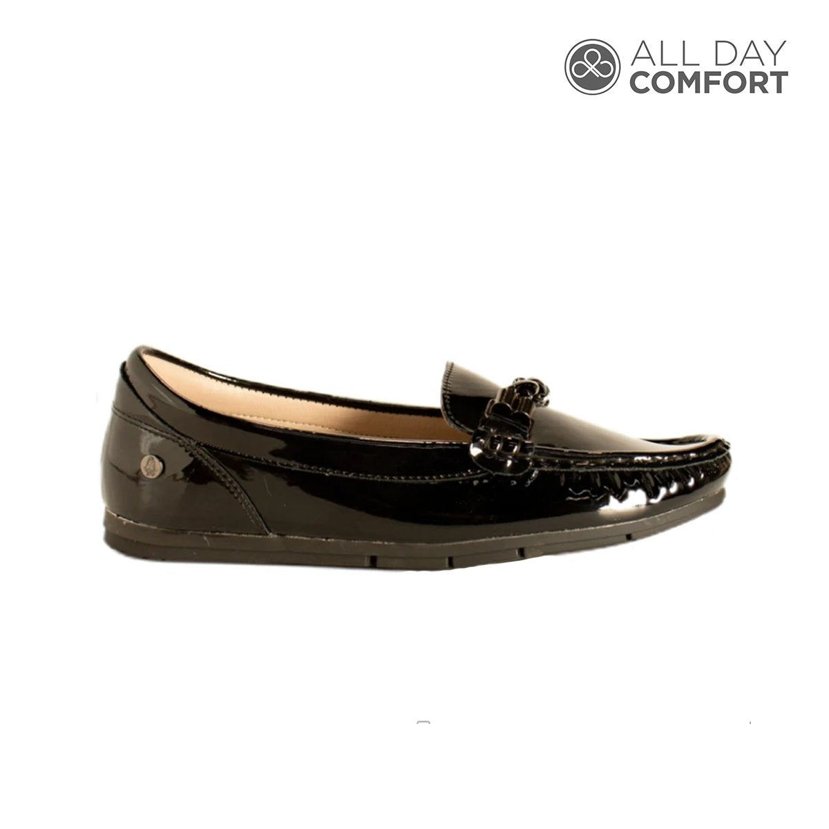 mocasin allison - color negro, 34995, all day comfort, calzado, hush puppies, mocasin, mujer, negro, sintetico, precio regular comprar, en linea, online, delivery, Honduras, zapatos