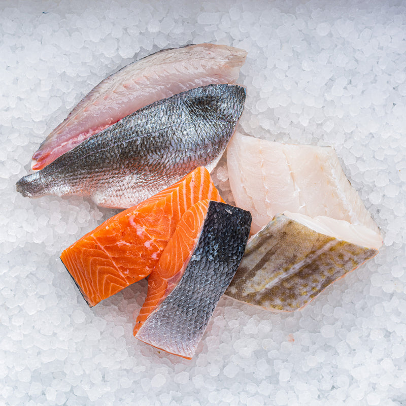 Fresh Fish Selection (6 portions)