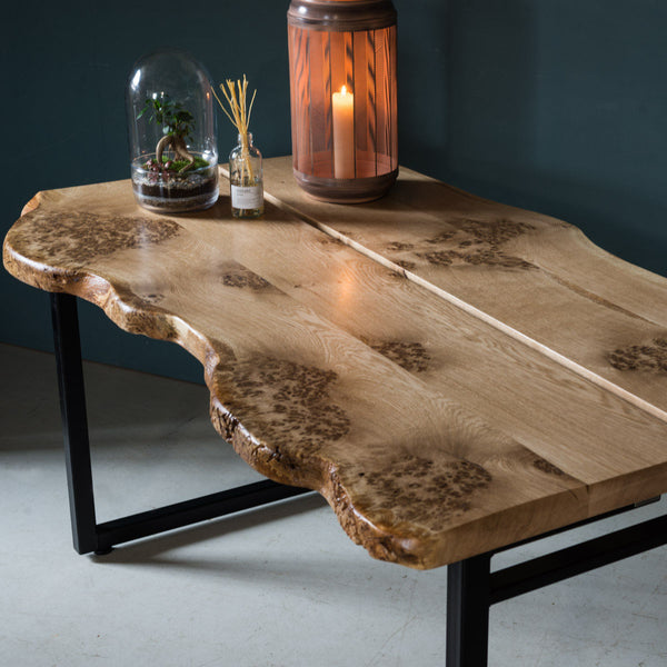Live Edge Oak Table, Opia