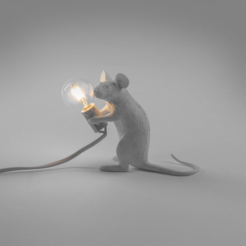 Mouse Lamp, White