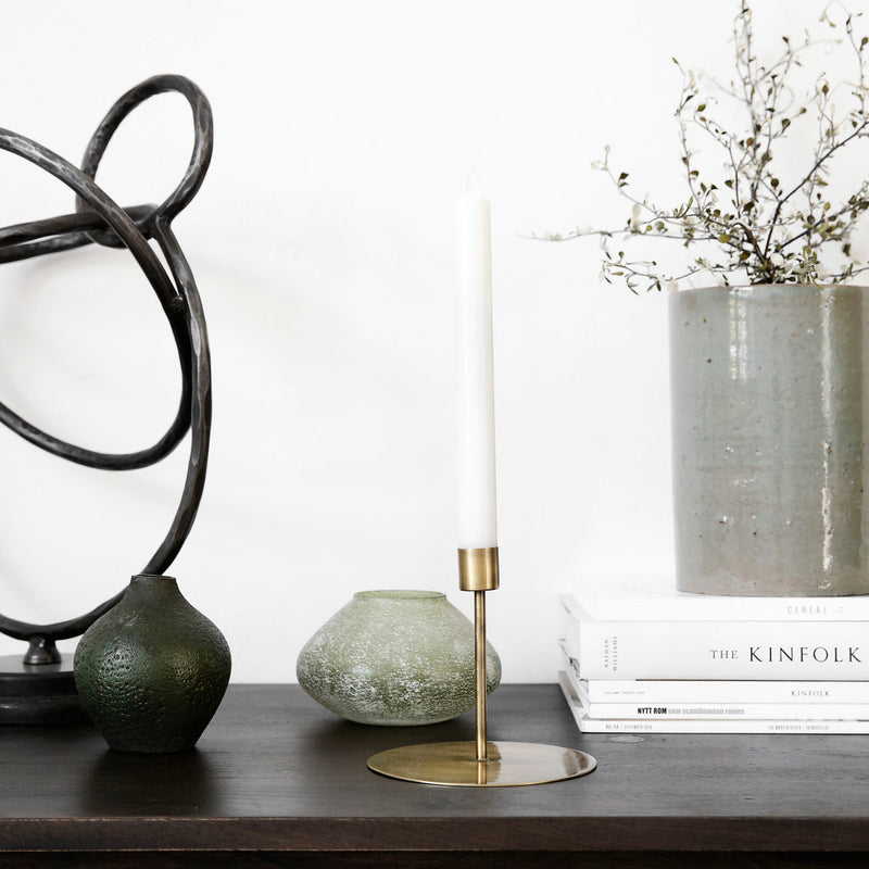 Brass Candle Stand, Short