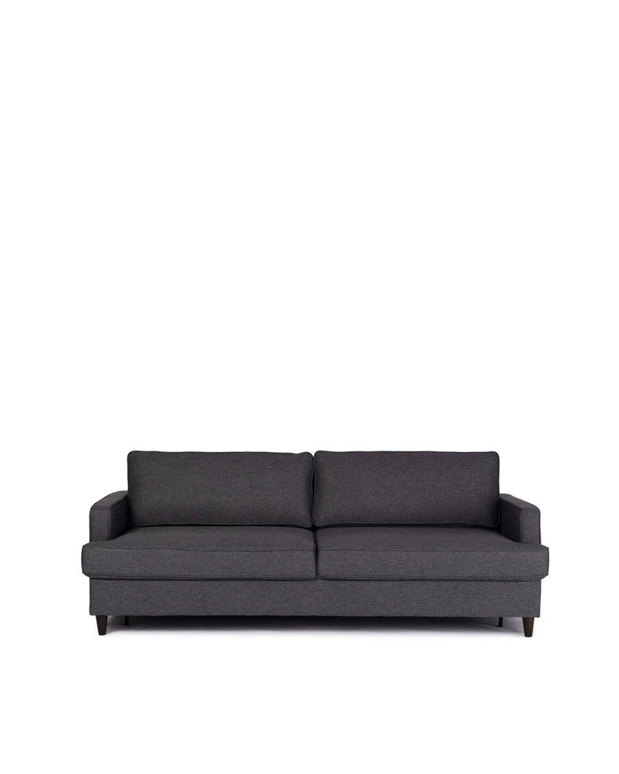 Contemporary Grey Fabric Sofabed | Tranquil | Front View | MoblerOnline