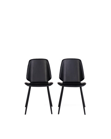Brisbane | Dining Chair Black (Set of 2)