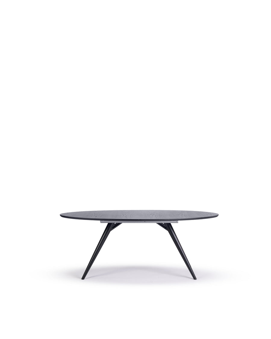 Modern Oval Dining Table | Bunbury-Oval | Front View | MoblerOnline