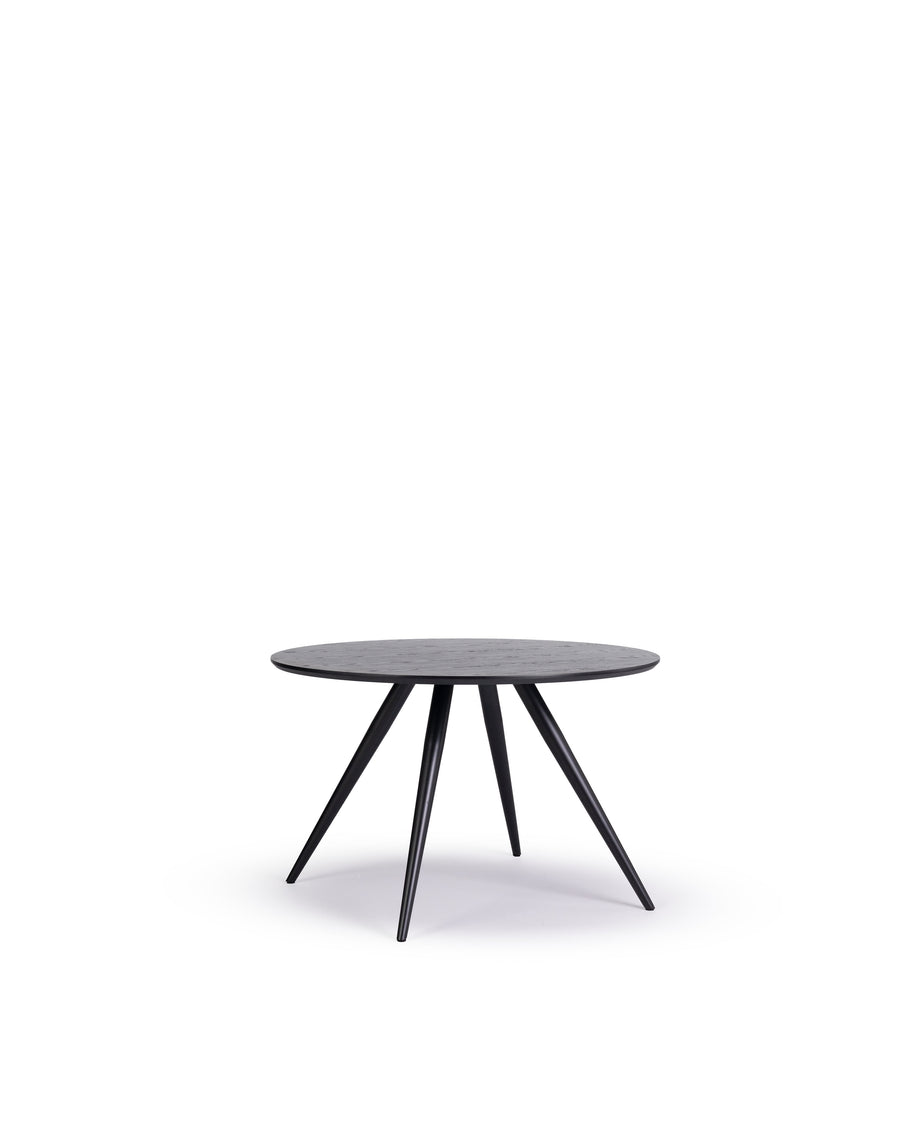 Modern Round Dining Table | Bunbury-Round | Angle View | MoblerOnline