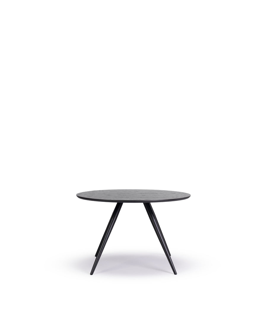 Modern Round Dining Table | Bunbury-Round | Front View | MoblerOnline