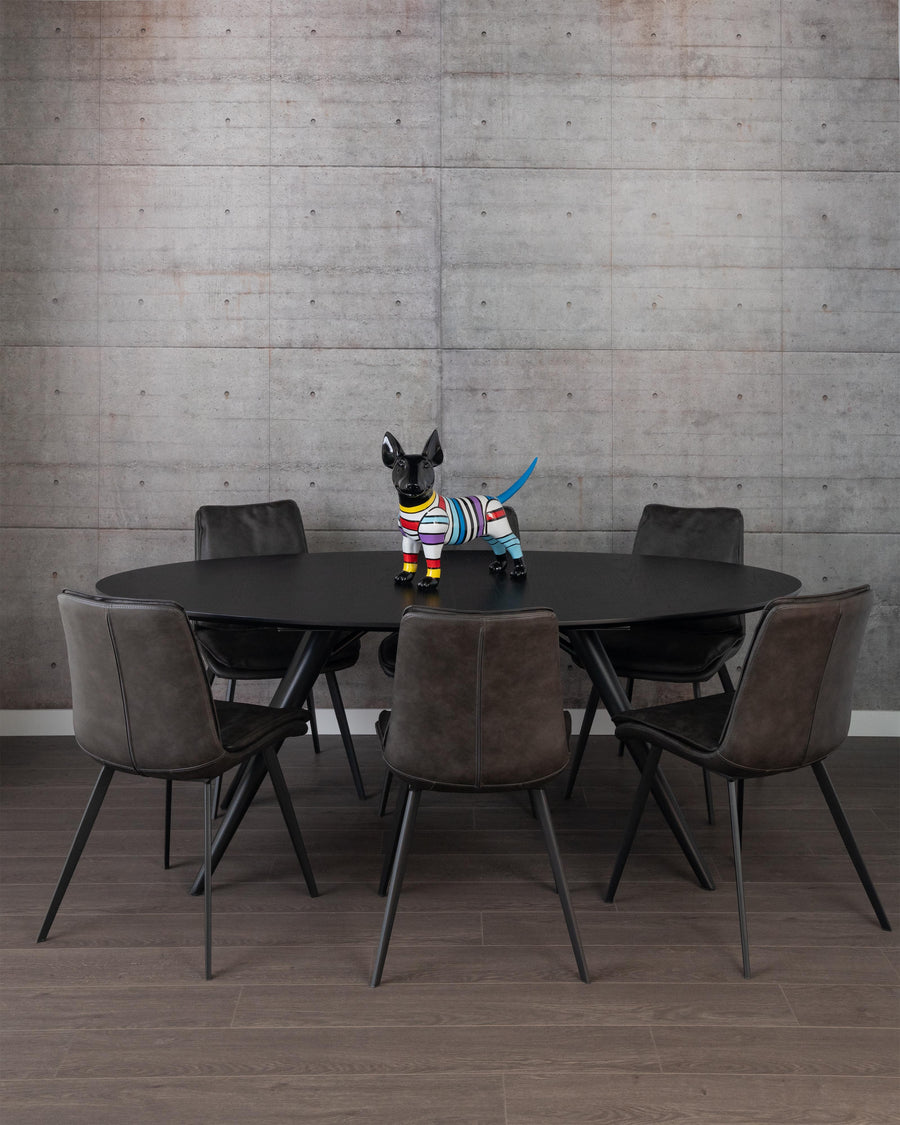 Modern Oval Dining Table | Bunbury-Oval | Studio | MoblerOnline