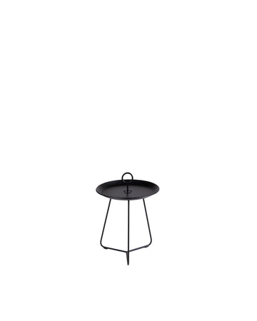 Round Tray Table With Special Drain System | Eyelet | Front View | MoblerOnline