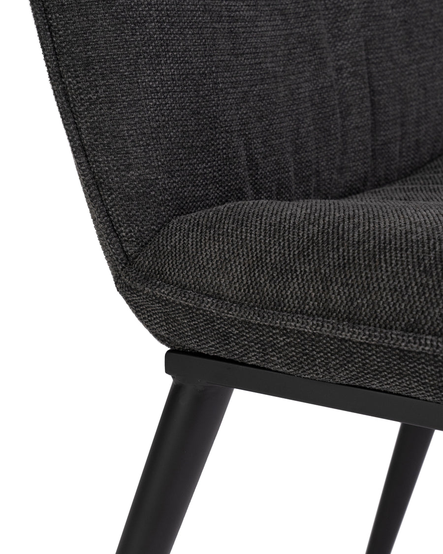 Modern Dining Chair (Set of 2) | Broome | Detail Close Up View | MoblerOnline