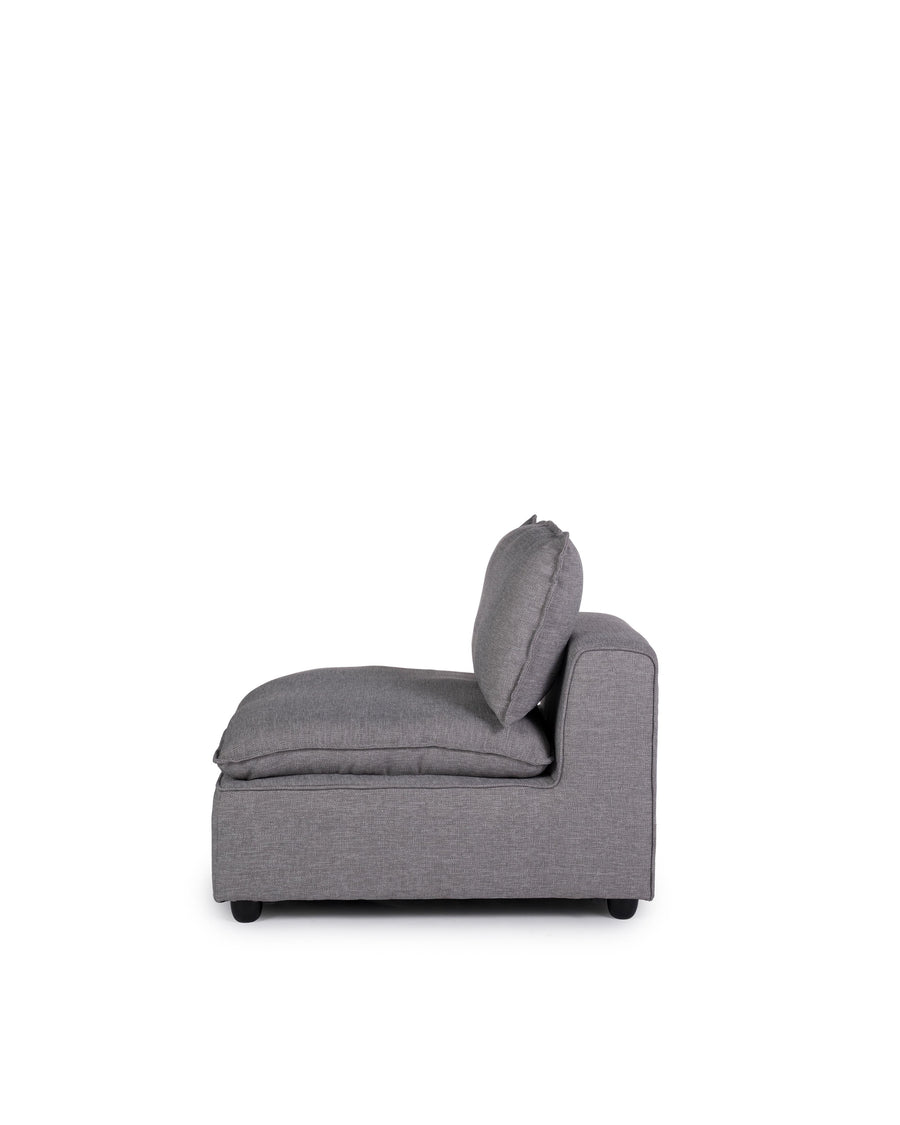 Modern Modular Insert Chair | Messina | Side View | MoblerOnline