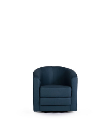 Swivel Chair | Delos| Front View | MoblerOnline