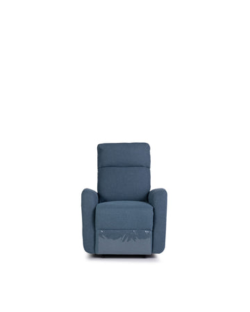Recliner In Blue | Volta | Front View | MoblerOnline