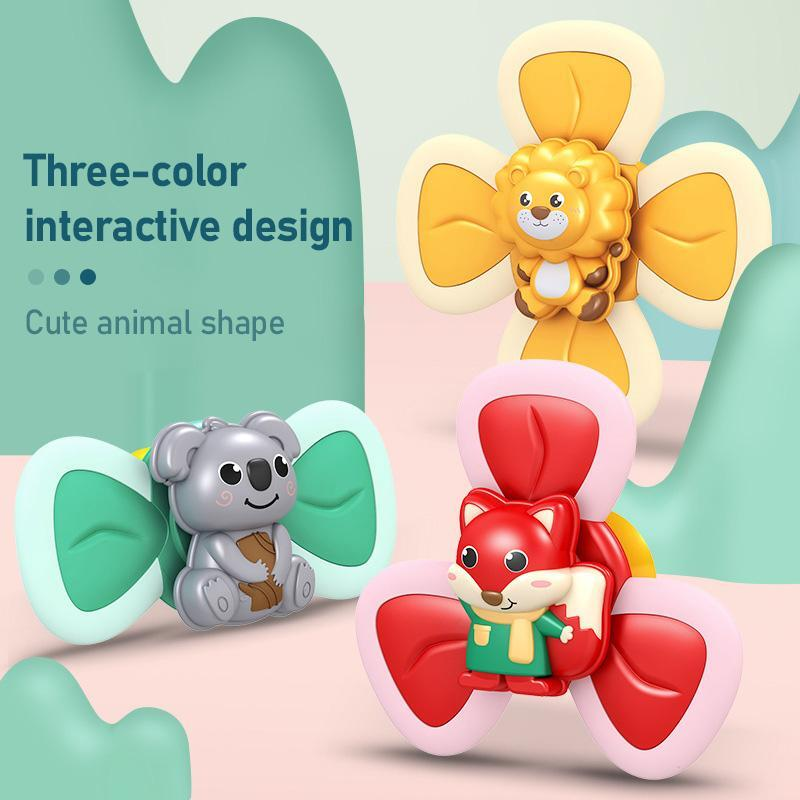 Cartoon Suction Cup Spinner Toy Nineshie
