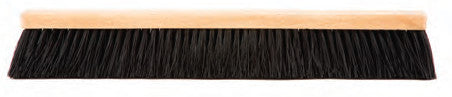 BLACK PLASTIC BRISTLE FLEXSWEEP FLOOR BRUSH