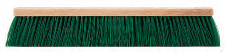 STIFF GREEN POLYPROPYLENE FLEXSWEEP GARAGE FLOOR BRUSH