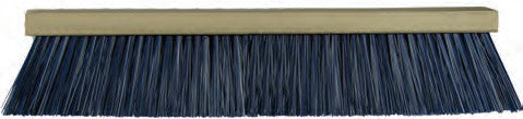 HEAVY GAUGE BLUE PLASTIC STREET BROOM