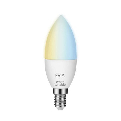 ERIA C40 6W | Smart Tunable Dimmable White E14 Candle Light Bulb