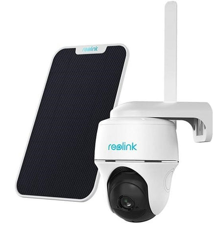 Reolink Go PT | 100% Wire Free 4G Outdoor Security Camera with Solar Panel Included