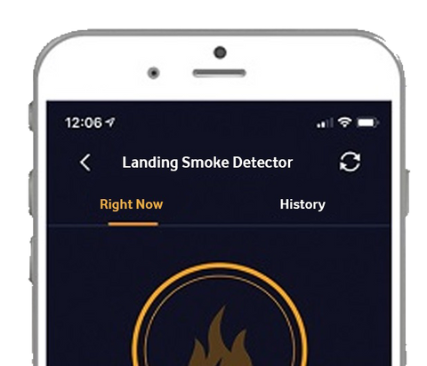 Wireless Smart Smoke Detector/App controlled | Connect It