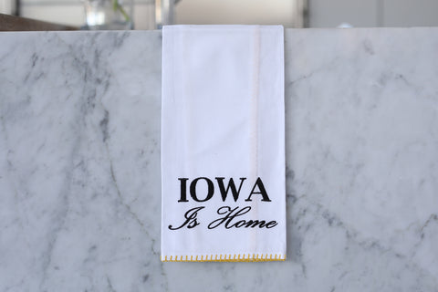 Iowa Is Home Black and Yellow