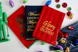 Christmas Tea Towel Trio