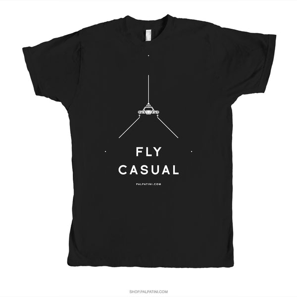 Fly casual.