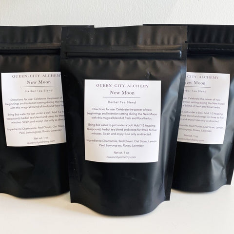 New Moon Loose Leaf Herbal Tea Blend