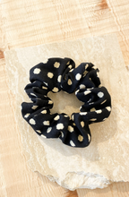 Load image into Gallery viewer, Textured Soft Spotted Scrunchie