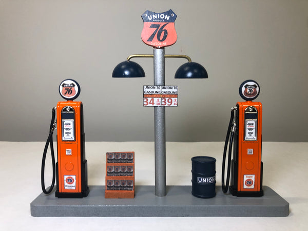 Union 76 Gas Pump Islands