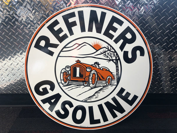 Refiners Gas Sign