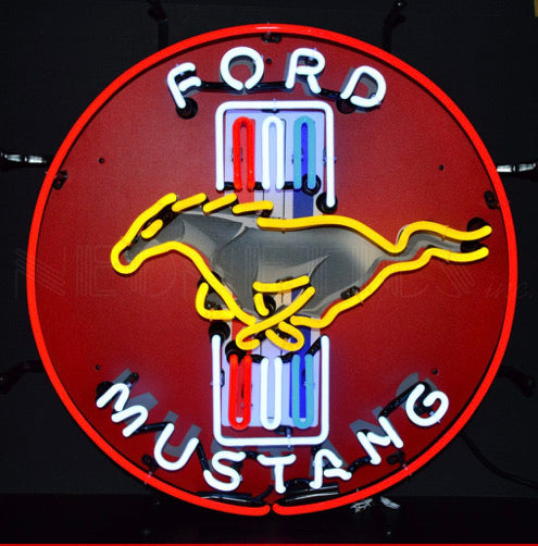 Ford Mustang standard neon