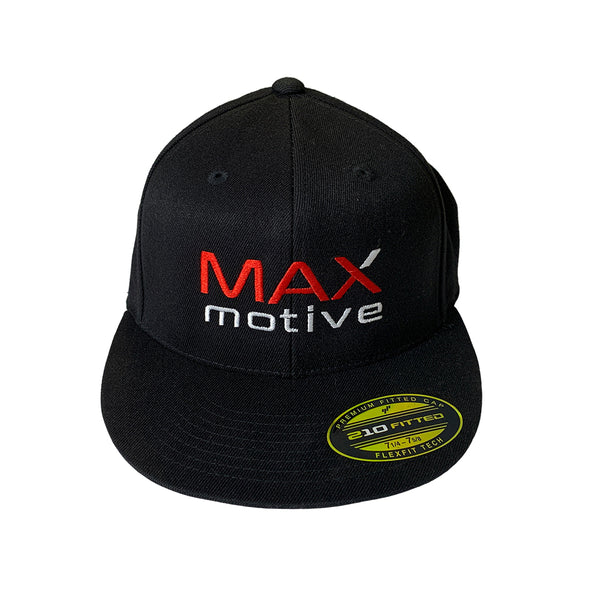 MAXmotive Logo Hat - Flex Fit - Flat Brim