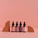 set of mindful beauty serums