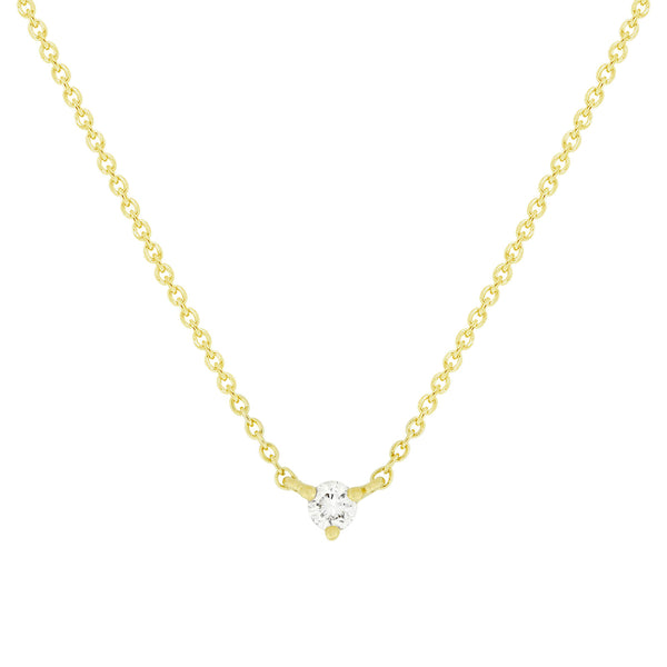 LILI DIAMOND SOLITAIRE NECKLACE