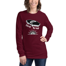 Load image into Gallery viewer, Long Sleeve Shirt | Black and White Tired Soul Splash