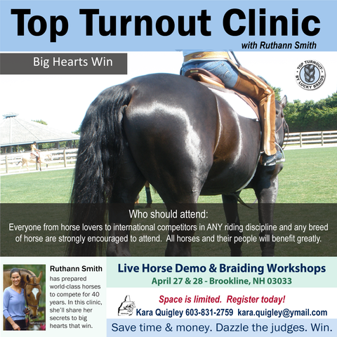 Top Turnout Clinic with Ruthann in NH