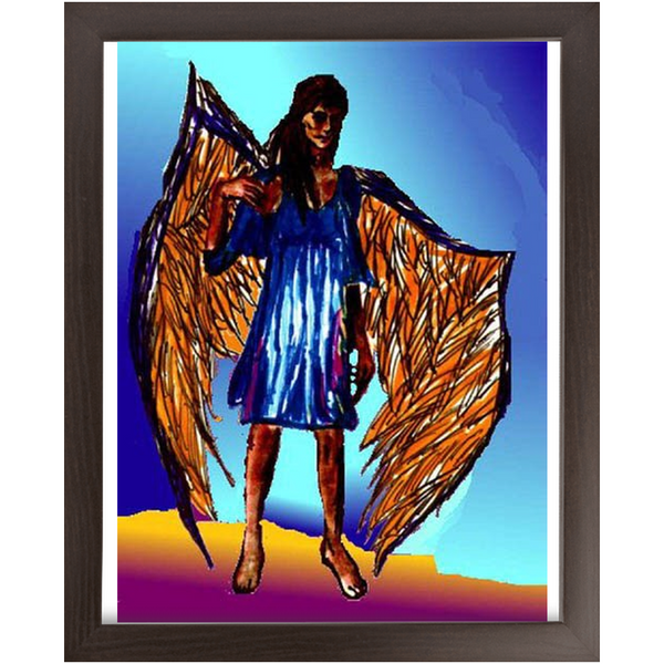 Economy Framed Prints Cindy
