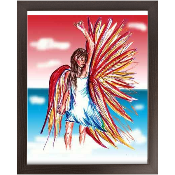 Economy Framed Prints flight