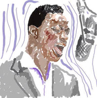 Nat King Cole - The Jazz Series - Dan Joyce art
