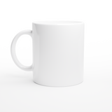 White 11oz Ceramic Mug