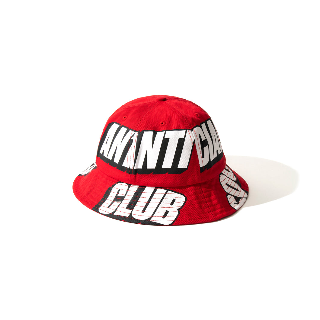 Interest Los Red Bucket Cap