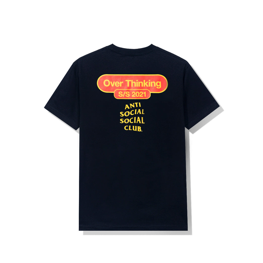 Over Thinking 21 Navy Tee