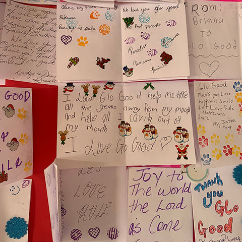 Thank you notes from the people of Eleuthera