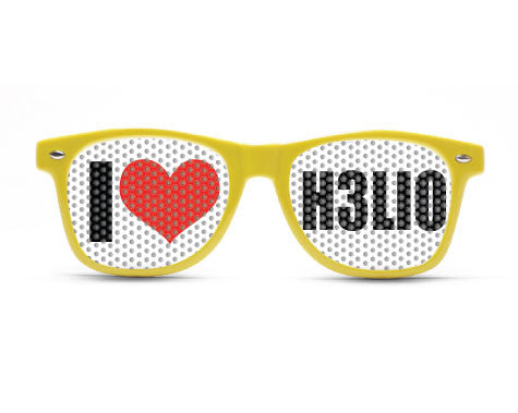 I HEART HELIO GLASSES - KIDS