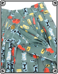 MCM HORSE & CARRIAGE SKIRT