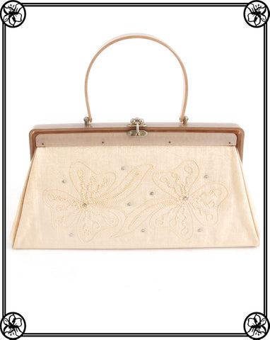 1950'S EMBROIDERED HANDBAG